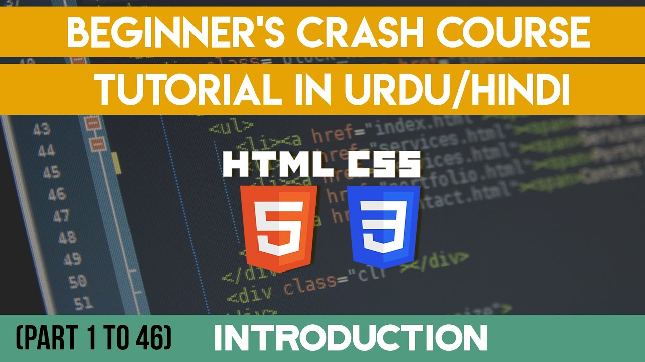 Html5 & CSS3 Course