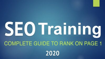 Complete SEO Training 2020